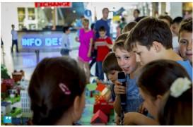 Festivitati de sfarsit de an pentru cei 3600 de scolari De-a arhitectura