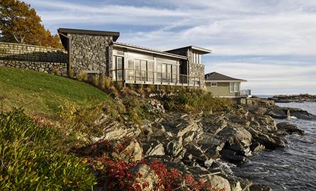 Casa de vacanta la ocean amenajata in stil rustic