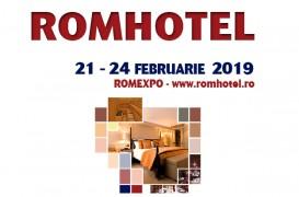 ROMHOTEL, cel mai important eveniment din industria ospitalităţii, are loc între 21 și 24 februarie 2019