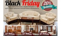 Reduceri Masive de Black Friday la Casa Mobila Simex! De Black Friday in perioada 27 11