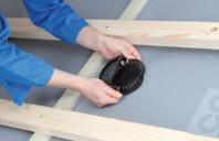 O solutie eficienta pentru evacuarea rapida a vaporilor din termoizolatia interioara, de sub sarpanta