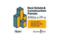 """BusinessMark: Conferinta """"Real Estate & Construction Forum"""" isi deschide portile pe 22 martie in Bucuresti BusinessMark anunta organizarea celei de-a patra editii a conferintei """"Real Estate & Construction Forum"""", ce va avea loc pe 22 martie 2017 la Hotel Radisson Blu din Bucuresti."""