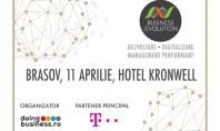 Proiectul national Business (r)Evolution ajunge la Brasov in 11 aprilie 2017 Seria de conferinte Business (r)Evolution