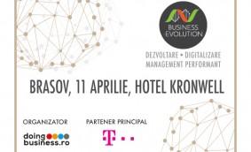 Proiectul national Business (r)Evolution ajunge la Brasov in 11 aprilie 2017