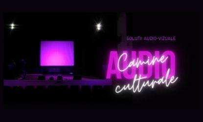 Echipamente de sonorizare şi iluminat necesare pentru un cămin cultural