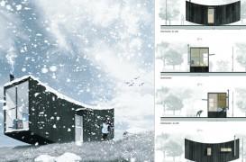 Primele trei case micro, confortabile și funcționale, au fost premiate