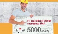 Fii Specialist si castiga cu produse Sika! Stimati parteneri ne face placere sa va anuntam startul