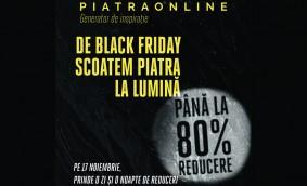 De Black Friday, PIATRAONLINE pregăteşte discounturi de până la 80% la peste 100 de tone de piatră naturală