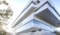 Cladirea Dominion poarta semnatura Zaha Hadid Echipa de arhitecti condusa de Zaha Hadid a finalizat lucrarile