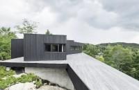 Casa in Quebec construita din materiale reciclate este 100% autonoma