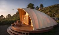 Un cort modern autonom cu interioare confortabile Cortul Autonomous Tent este o structura de campare autonoma