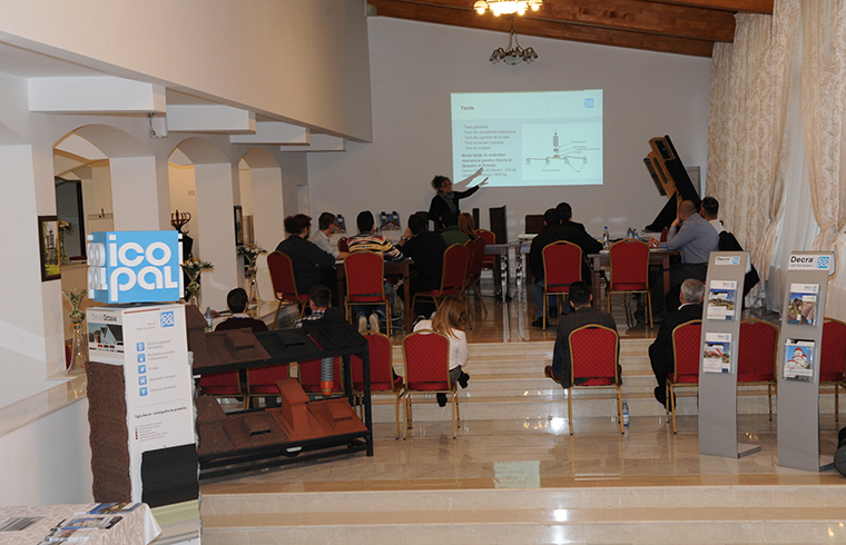 Seminar organizat de DECRA ICOPAL ROMANIA si SC EXPO TEST CONSTRUCT SRL