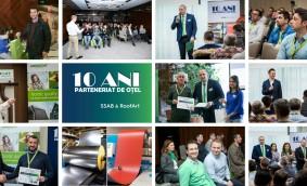 RoofArt România și SSAB au marcat Parteneriatul de Oțel. Retrospectiva unui deceniu de colaborare