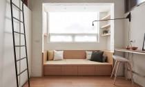 Exemplu de ingeniozitate într-un apartament de doar 22mp