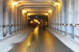 Penetron impermeabilizează tunelul combinatului metalurgic Kuznetsk Novokuznetsk, Rusia