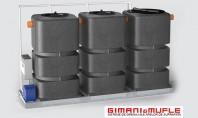 Instalatie de tratare a apelor provenite din spalatorii auto (modele IALE 1500 - 2250 F) Este