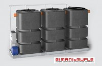 Instalatie de tratare a apelor provenite din spalatorii auto (modele IALE 1500 - 2250 F) Este o