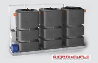 Instalatie de tratare a apelor provenite din spalatorii auto (modele IALE 1500 - 2250 F)