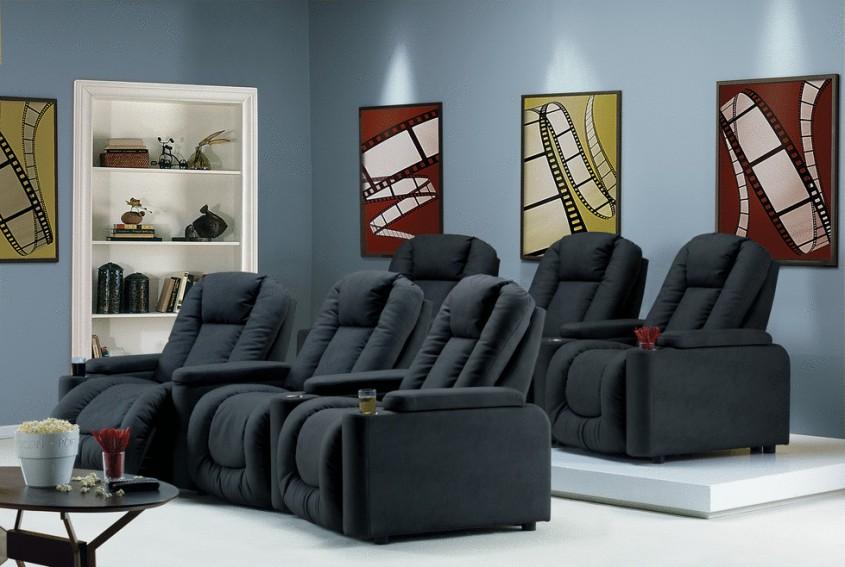 Alegerea canapelelor potrivite pentru zona home cinema