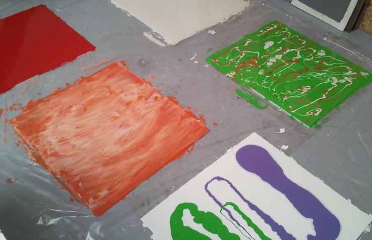 Epoxi decorativ - efecte & culori