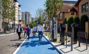 Prima stradă smart din România