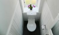Solutie ingenioasa pentru o baie ingusta Aceasta baie este tipica locuintelor in stil Victorian din Glasgow