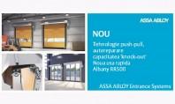 Usa rapida Albany RapidRoll®500 ASSA ABLOY Entrance Systems producator specializat de usi automate si solutii de
