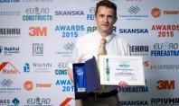 SAINT-GOBAIN premiata la Euro-Constructii 2015 Evenimentul aflat la editia a patra a fost organizat de publicatia