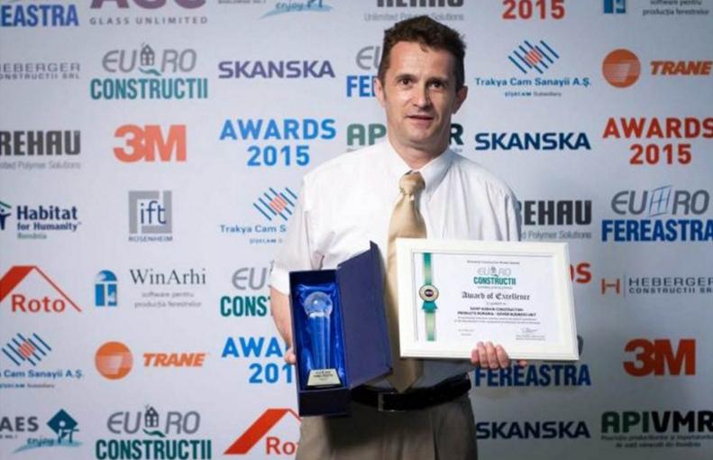 SAINT-GOBAIN premiata la Euro-Constructii 2015