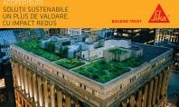 Solutii Sika pentru proiecte durabile: Acoperisurile Solutiile Sika pentru acoperisuri sunt durabile si economisesc energie!