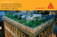 Solutii Sika pentru proiecte durabile: Acoperisurile