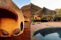 Cuibul, o locuință inspirată de o capodoperă arhitecturală din natură  Locuinta organica complet off the grid si handmade a fost finalizata recent de designerul sud-african Porky Hefer in desertul Namib din sudul-vestul Africii,