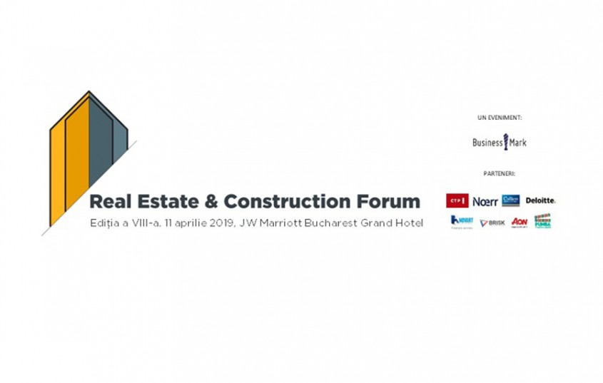 Real Estate & Construction Forum ajunge la cea de-a VIII-a ediție