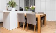 Cum transformi o bucătărie mică într-un spaţiu modern şi primitor? Amenajeaza peretii si pardoseala in culori