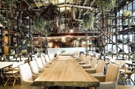 Vivarium, un restaurant in care predomina natura