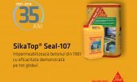 Sika Top Seal 107 - 35 de ani de eficacitate demonstrata Stiai ca in urma cu