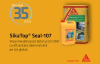 Sika Top Seal 107 - 35 de ani de eficacitate demonstrata