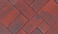 Model de pavaj Retro Pastel Rosu Optiunea pentru un pavaj cu nuante de rosu este una