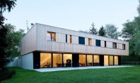 Vila Jonc trei case intr-un singur volum Acest proiect rezidential din Geneva este compus din trei