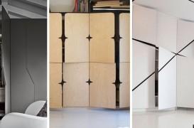 Idei pentru uși de dulap neconvenționale