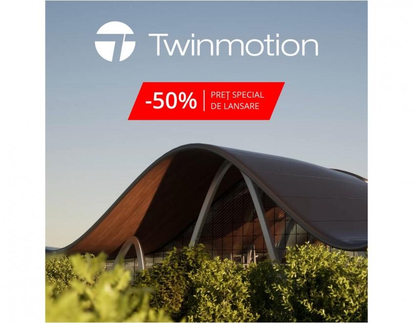 Compatibil cu toate programele BIM - Twinmotion 2020 – 50% discount