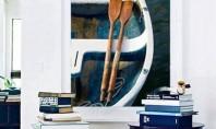 Interioare decorate cu elemente de inspiratie nautica Daca sunteti in cautarea unor motive intemeiate pentru a
