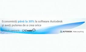 Treceți la un abonament Autodesk cu până la 30% reducere