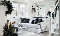 O abordare minimalista a Craciunului Craciunul in amenajari se remarca in general prin decoratiunile bogate in