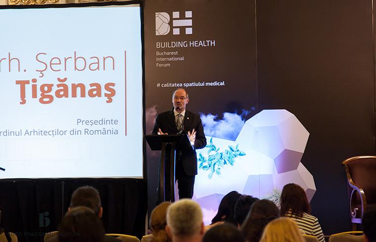 Galerie Foto Building Health Bucharest International Forum 2016