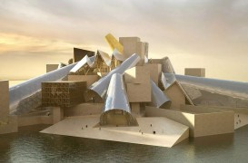 Muzeul Guggenheim din Abu Dhabi al lui Frank Gehry, pe cale să devină realitate