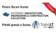 Licente Autodesk cu TopoLT cadou! In perioada 16 01 2017 - 28 02 2017 la achizitia