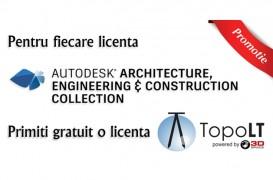 Licente Autodesk cu TopoLT cadou!