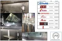 Sistem de protecție și suprimare incendiu pentru hote și bucătării profesionale