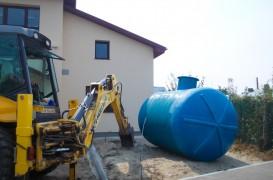 Bazine de retenție apă pluvială
